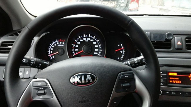 Belka Car - interior of car-sharin hatchback KIA