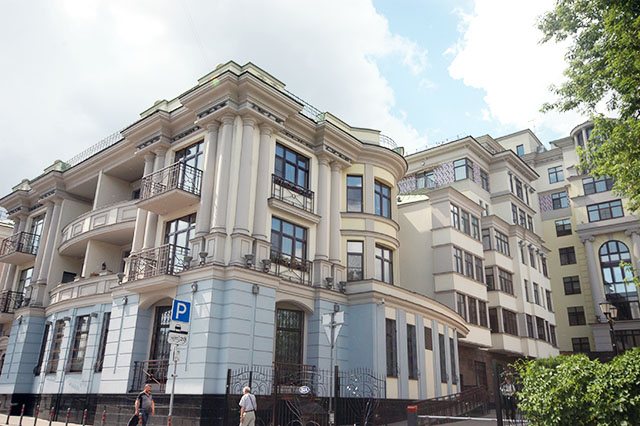 Residential compound «Dom na Ozerkovskoy»