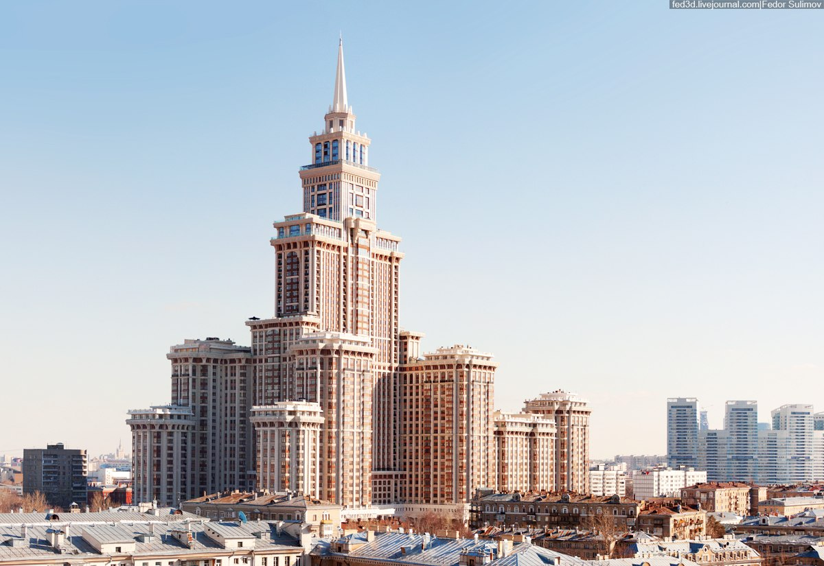 Buy and rent apartment in residential compound Triumph Palace. Wide  choice of apartments for sale in Triumph Palace with photos and  description