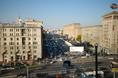 Best long term flats are located in the limits of Boulevard Ring of Moscow