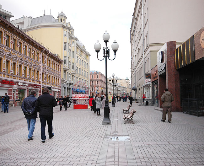 Lodging in Arbat Street.JPG