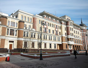 Rent apartment in Moscow famous Zamoskvorechie area